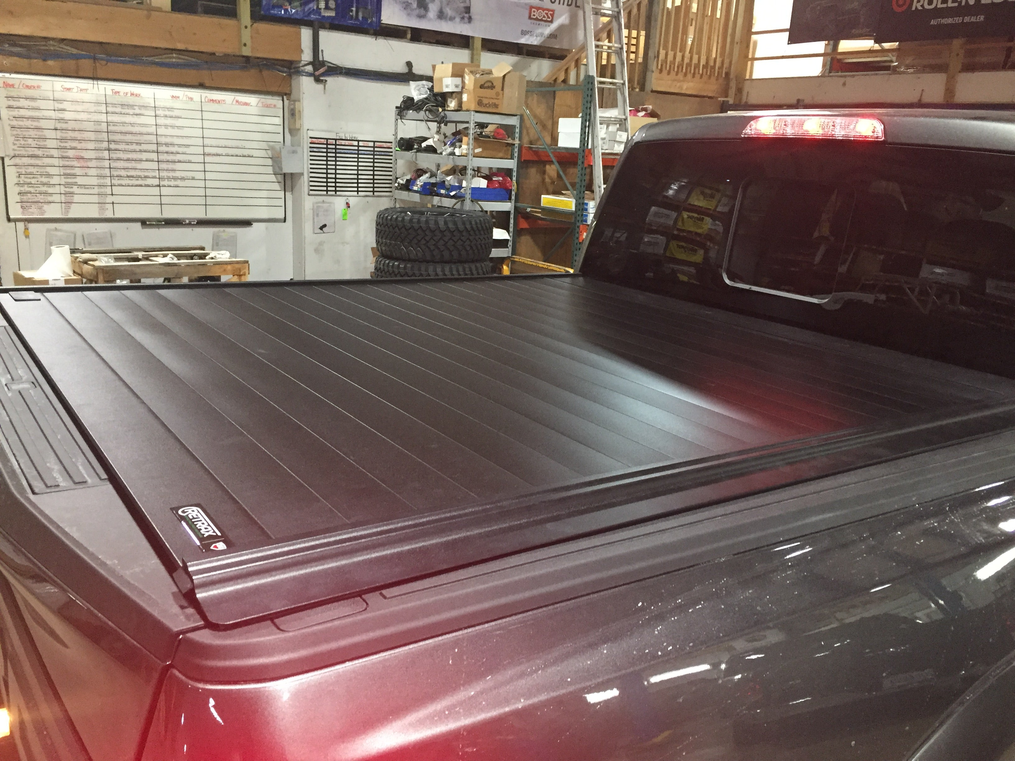 Retrax Tonneau Cover Installation Chicago