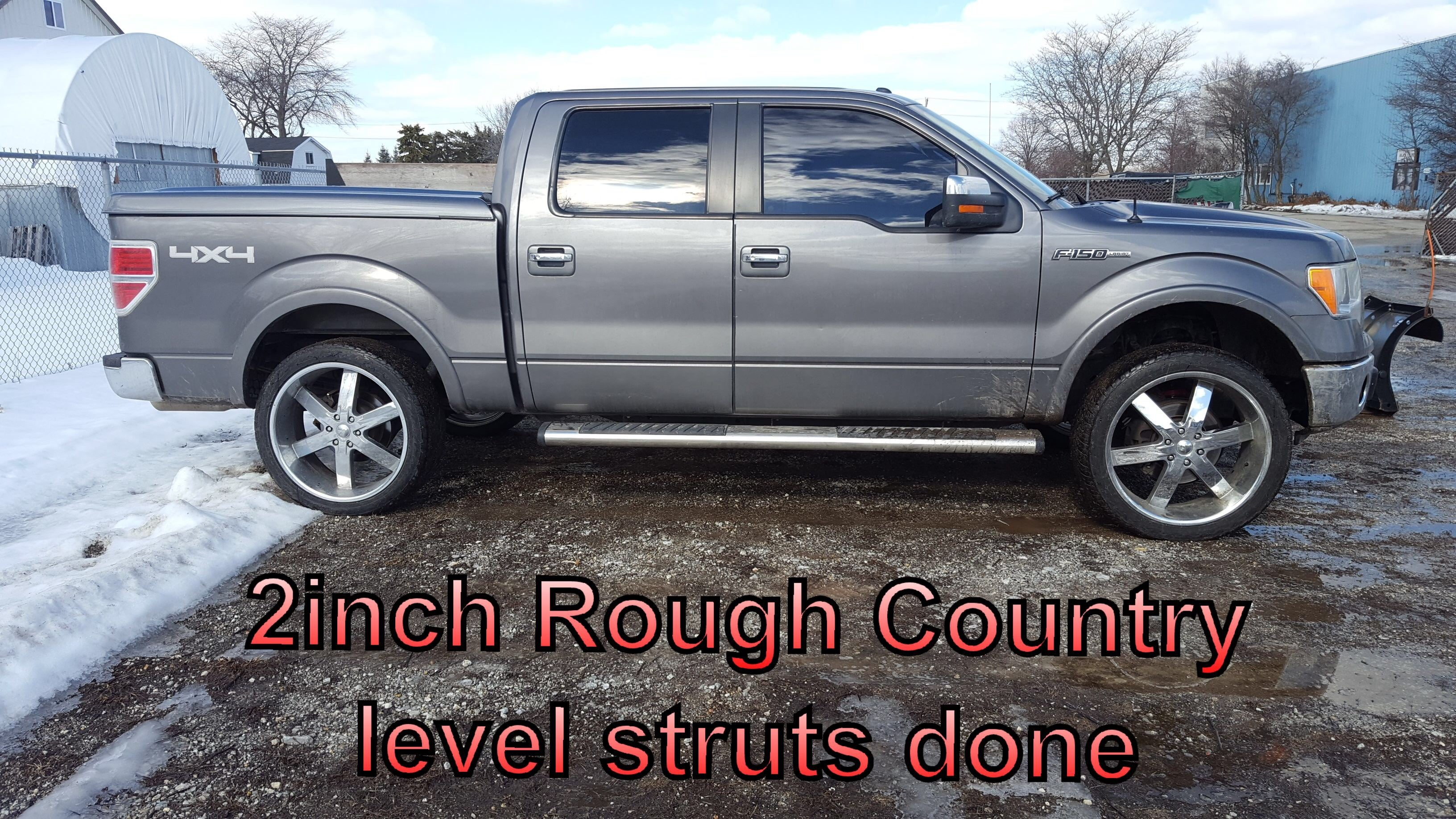 2 inch rough country leveling struts installation