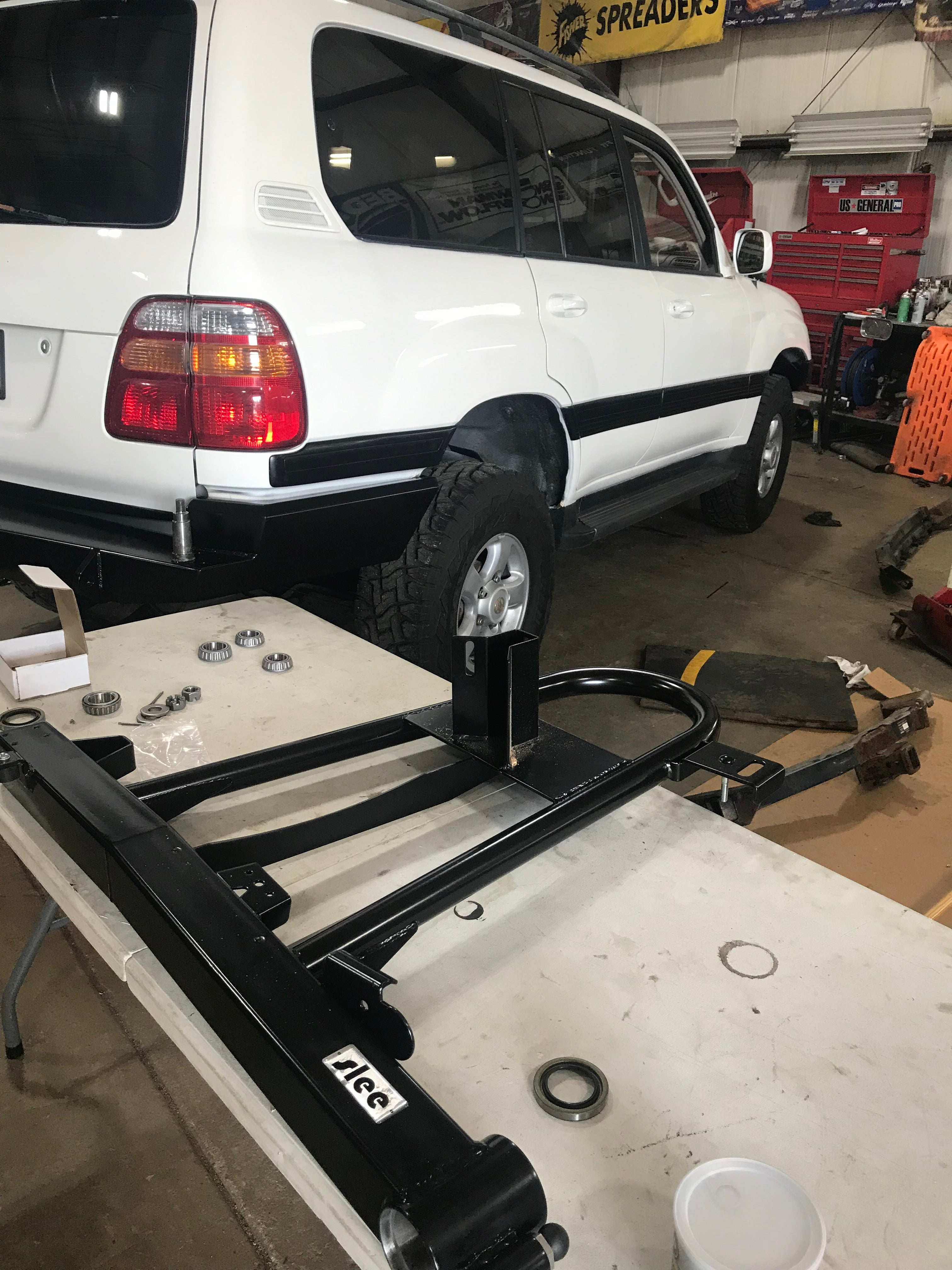 truck hitch installation