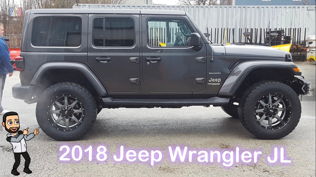 2018 Jeep Wrangler JL Lifted
