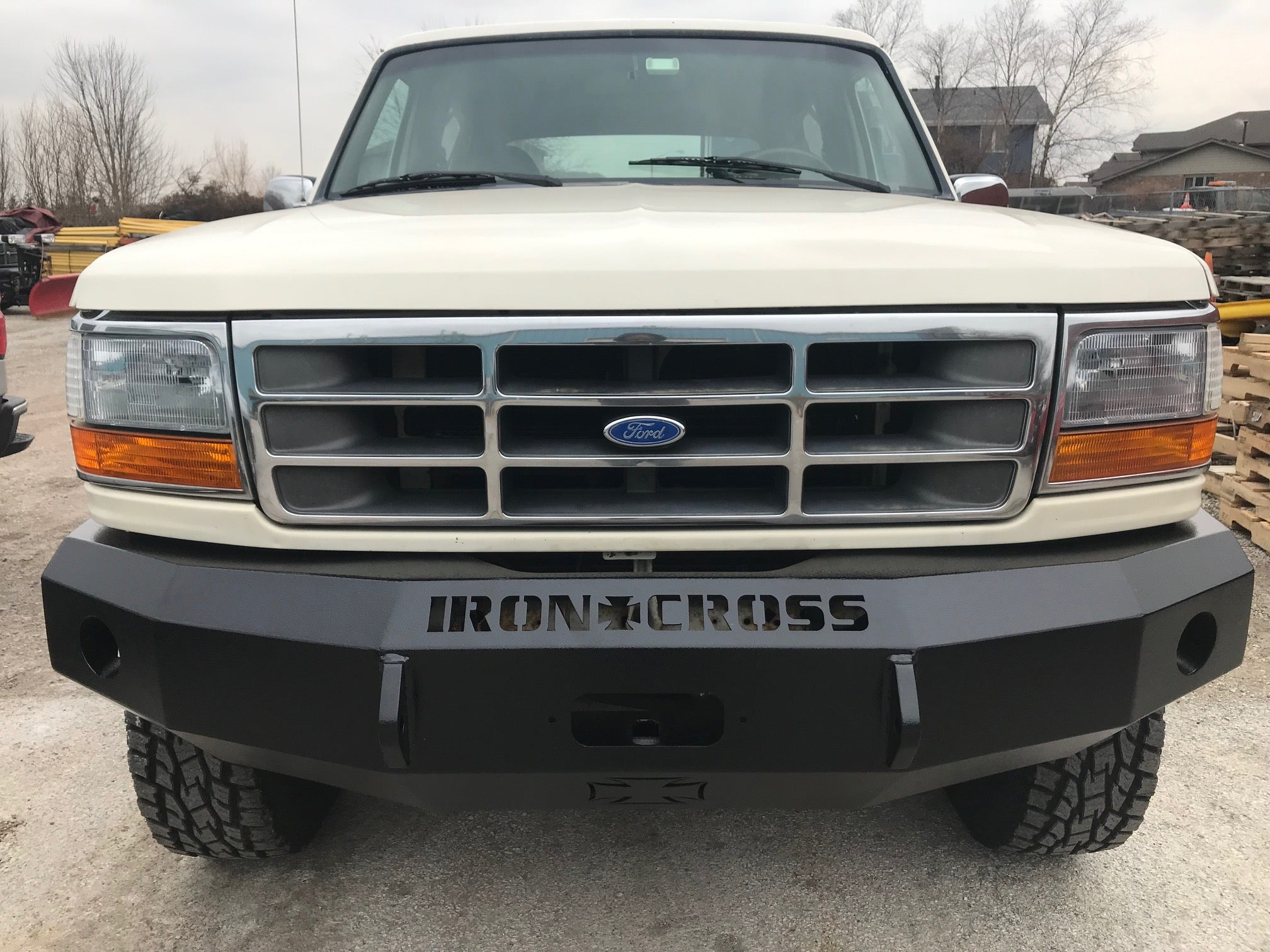 Iron Cross Aftermarket Off-road Bumper Installation