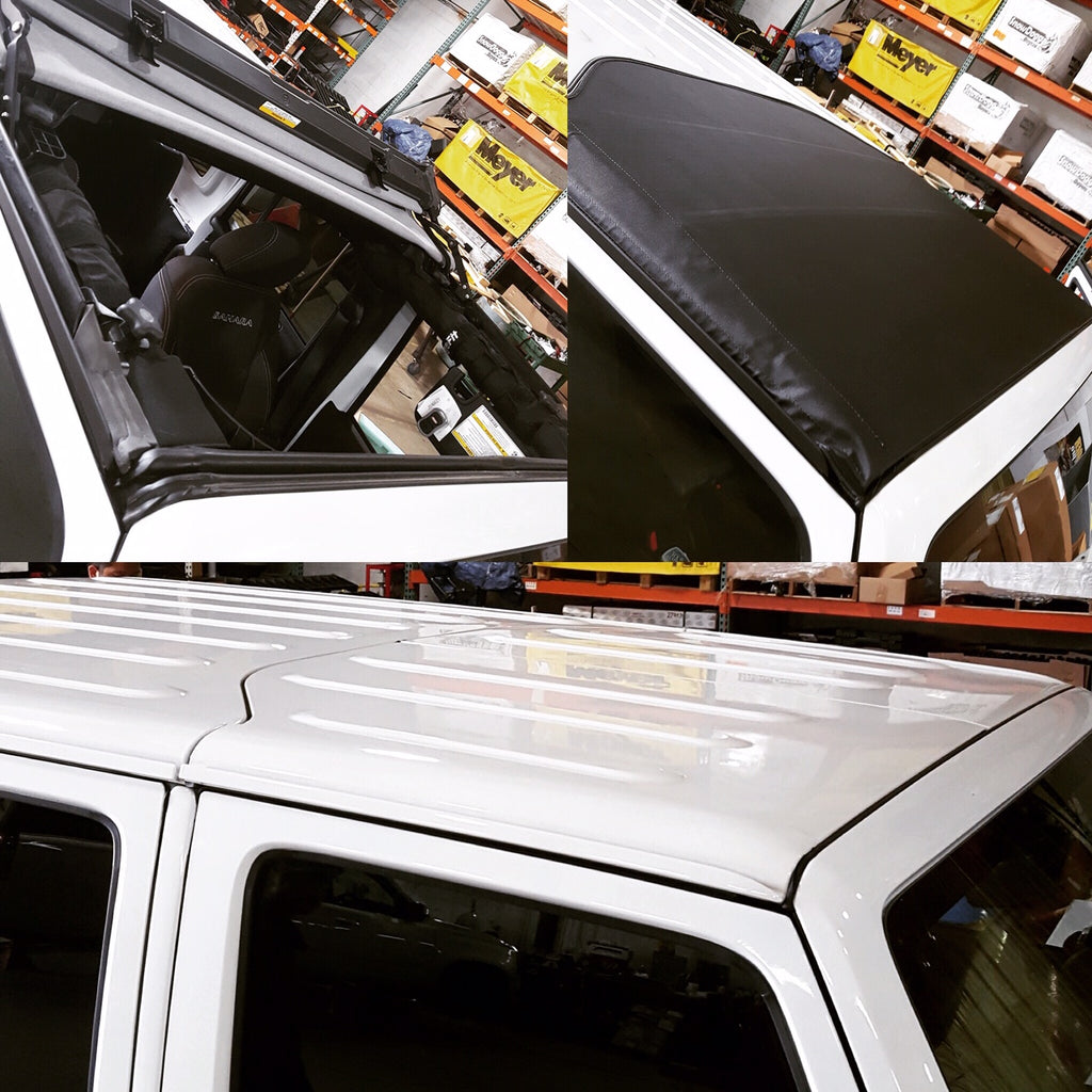 Jeep Bestop Soft Top Before & After Installation