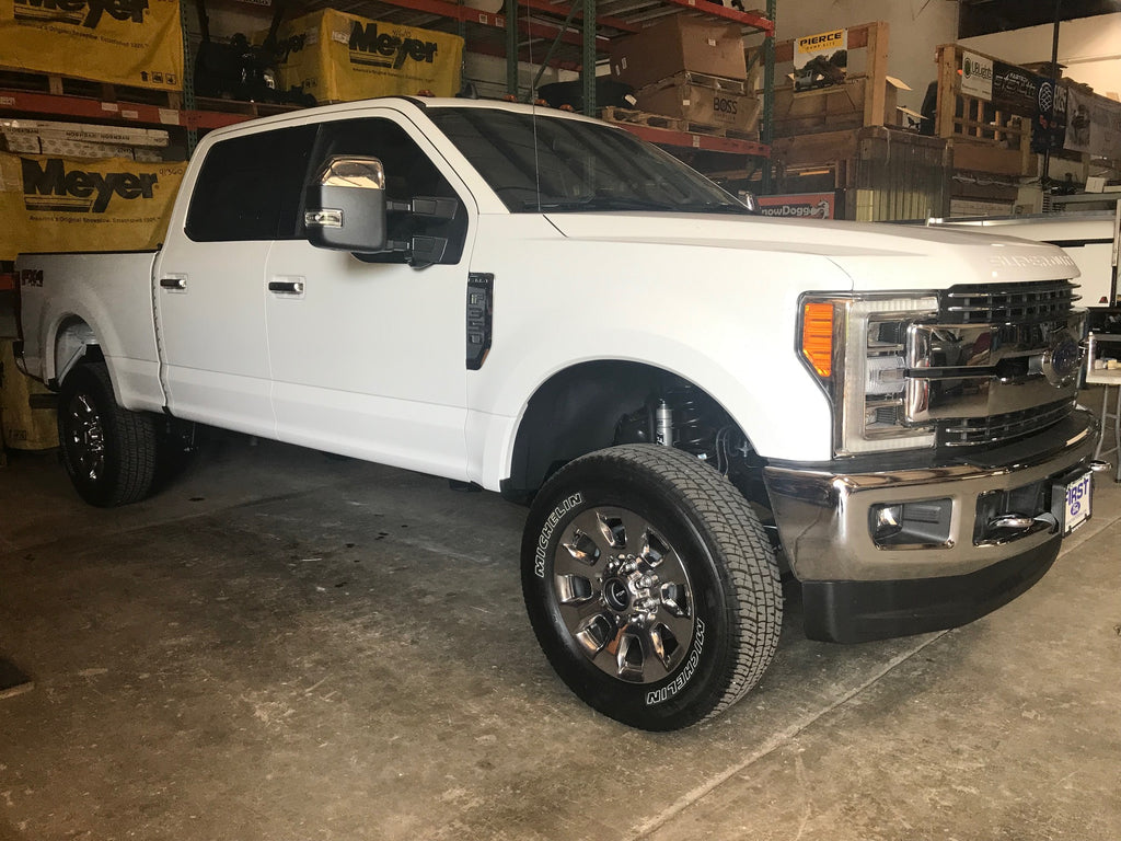 Lift Ford With BDS Suspension Lift Installed