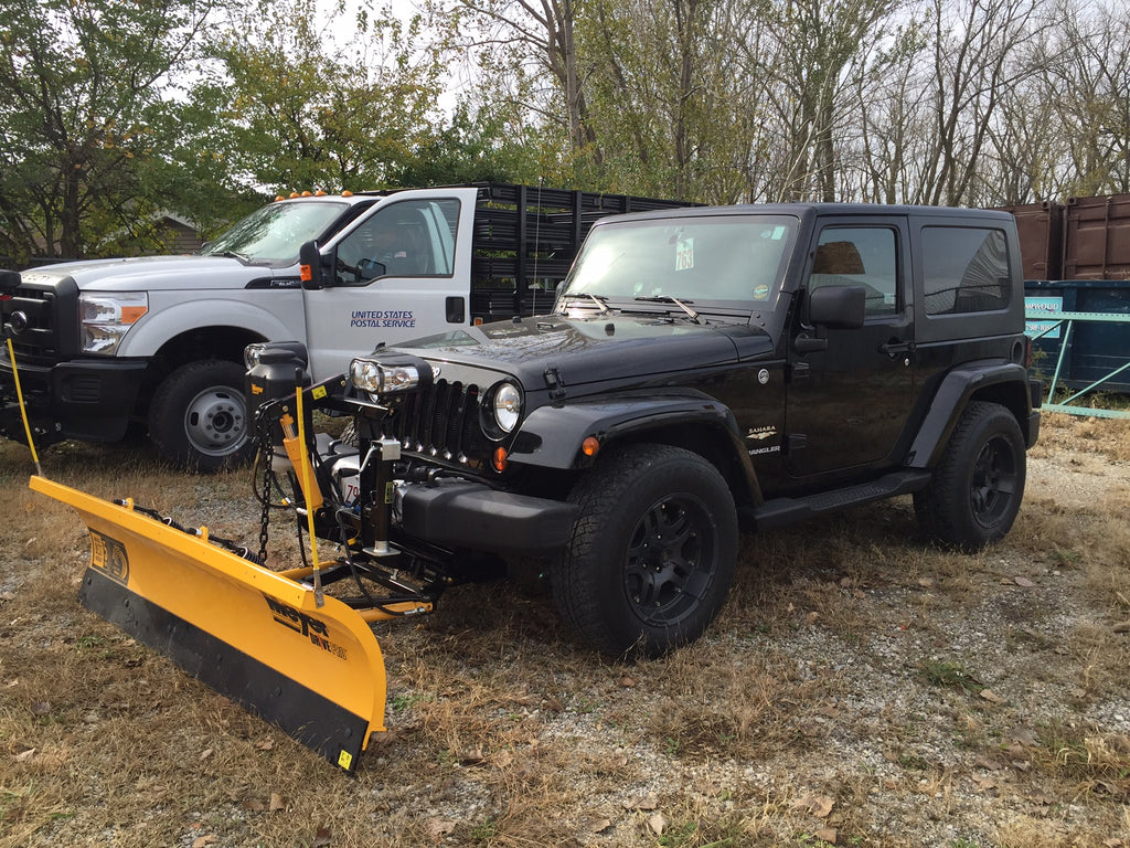 Meyer Products Jeep Wrangler Snow Plow Parts