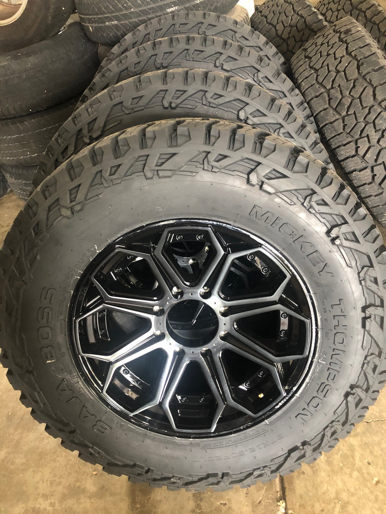 Fuel Wheels and Mickey Thompson Tires