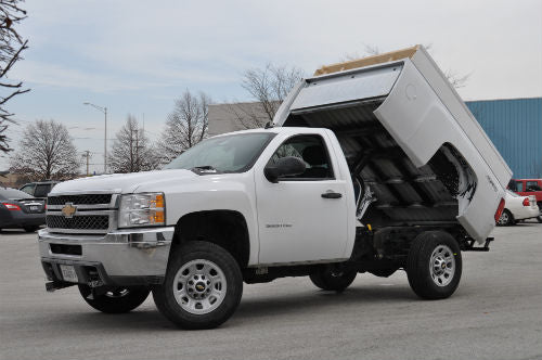 Pierce Dump Bed Conversion Kit Installation for pickups and flatbed trucks
