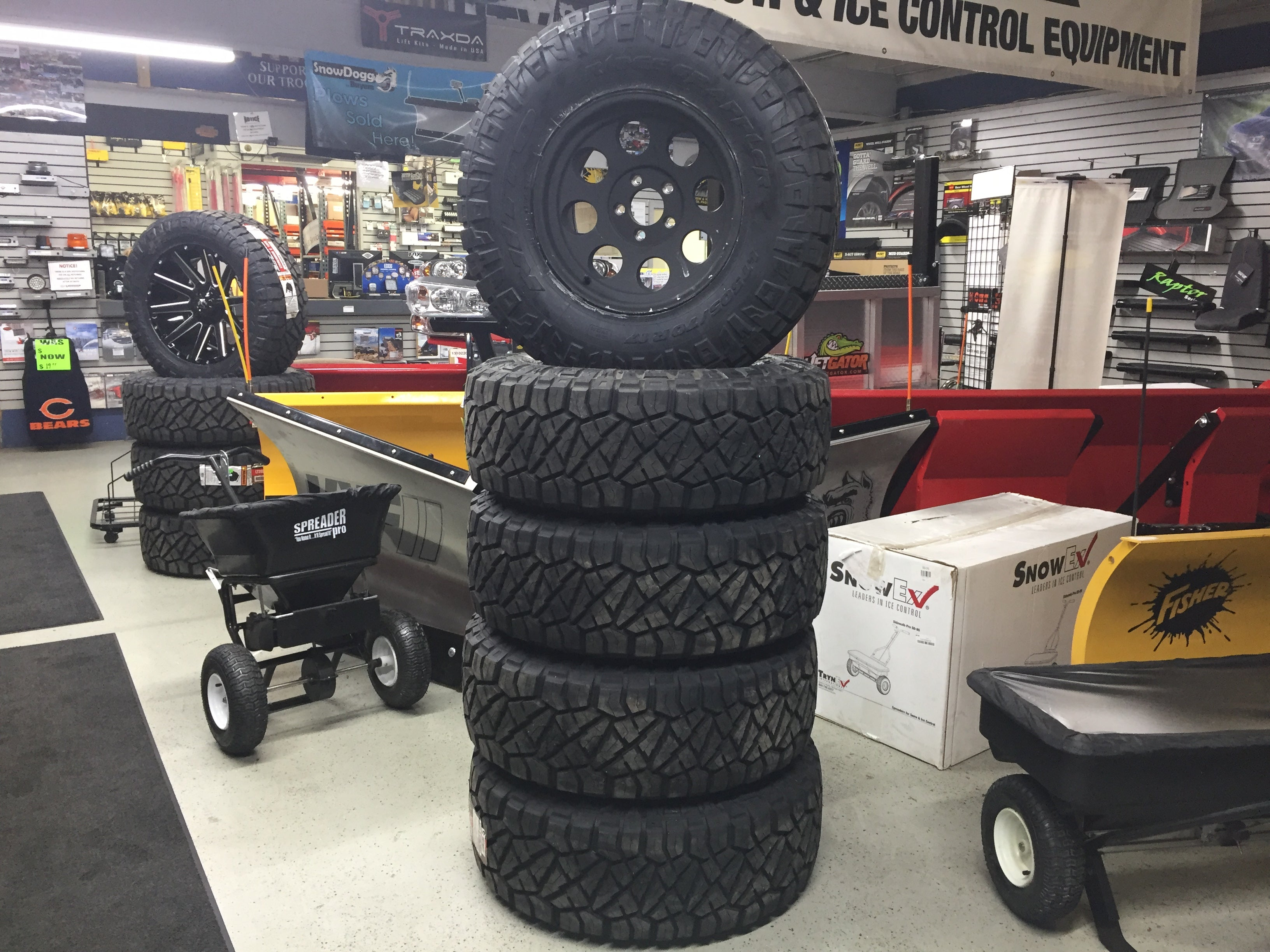 Pro Comp wheels with nitto ridge grappler tires