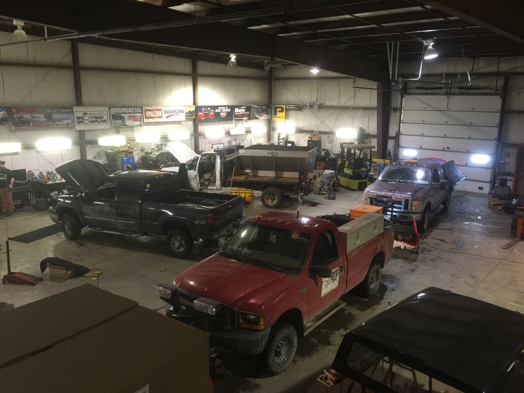 Snow removal equipment service and repair