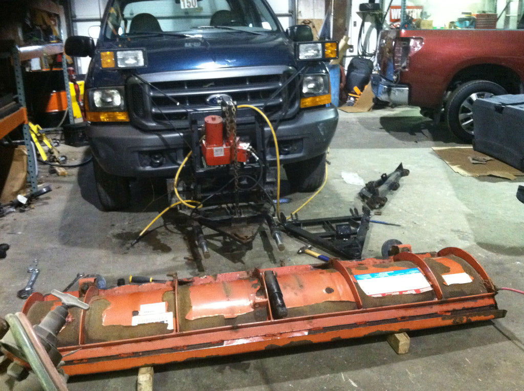 Snow plow installation and service near me