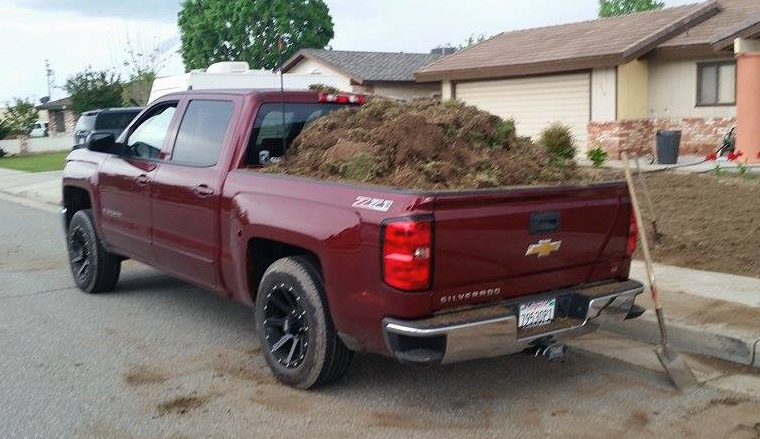Landscaping Truck