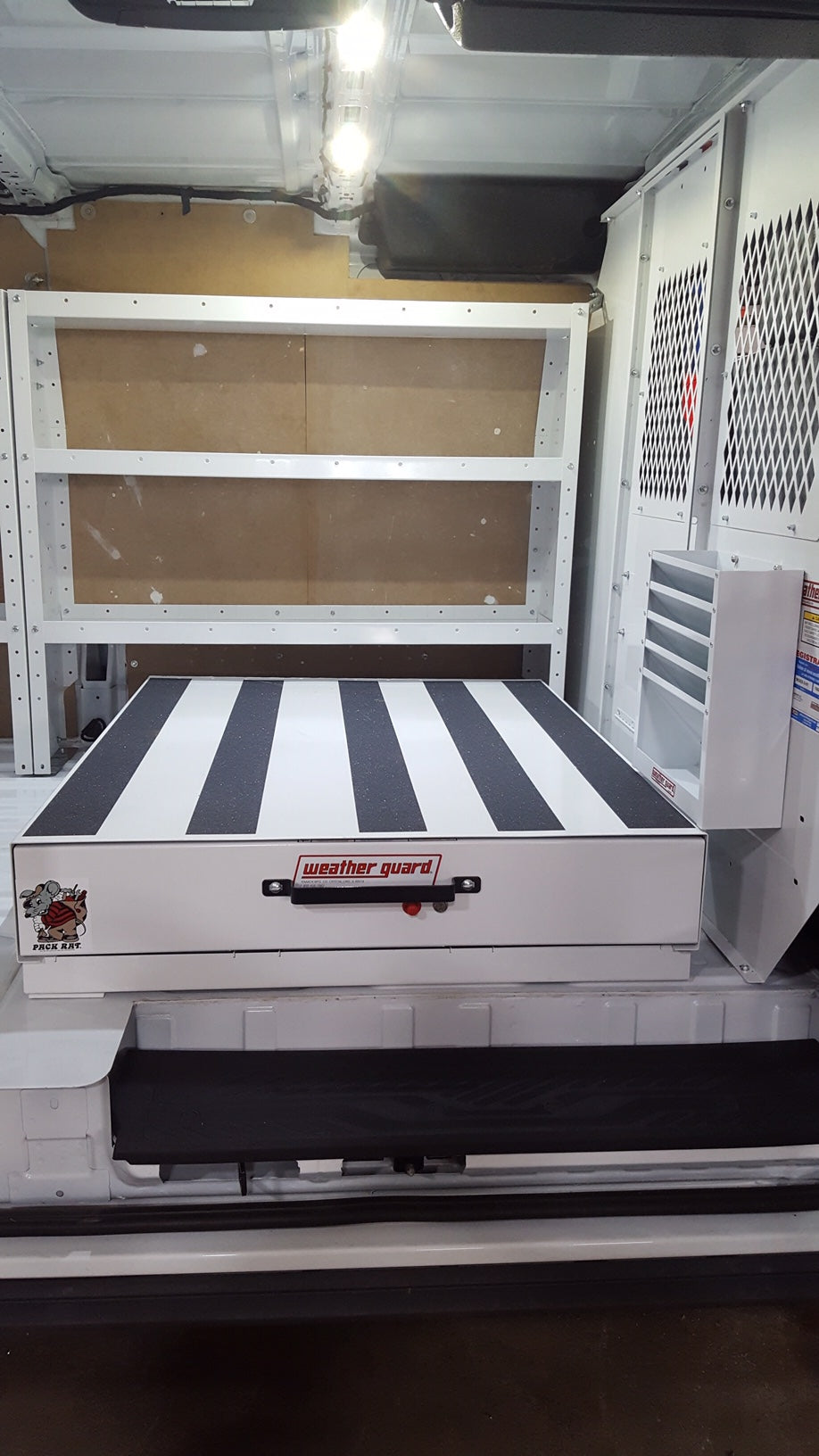 Weatherguard Transit Sprinter Van Cargo Management Systems