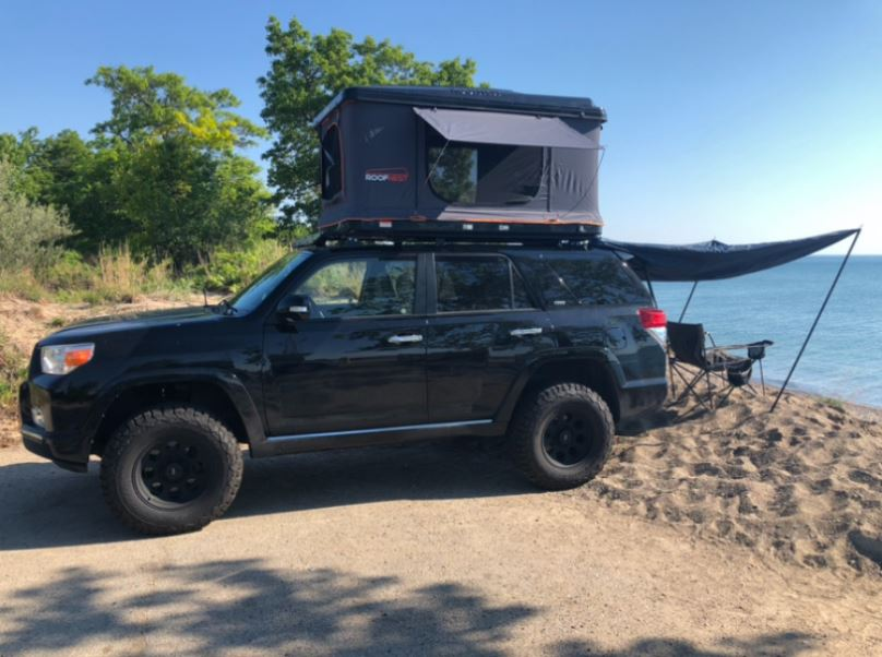 Offroad Roof Camping Tent Installation Chicago