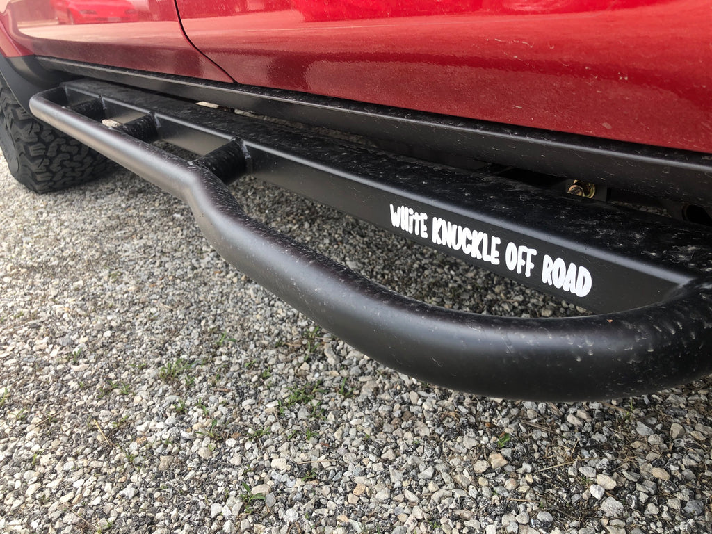 White Knuckle Offroad Step Bars