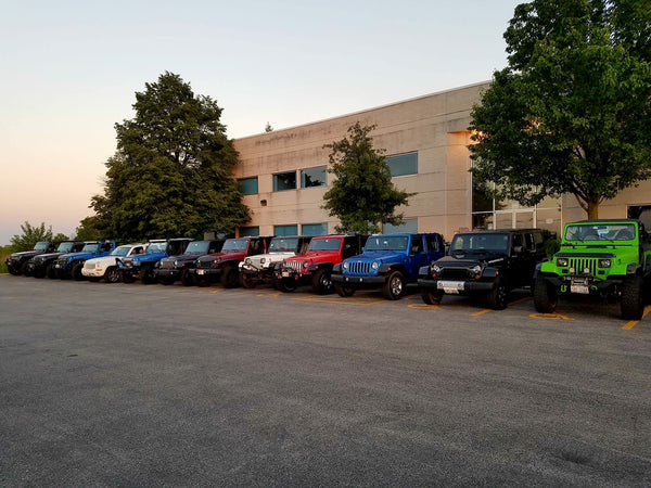 Windy City Jeep Force Meetup at CPW Truck Stuff & Wheels