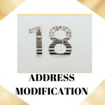 Address Modification