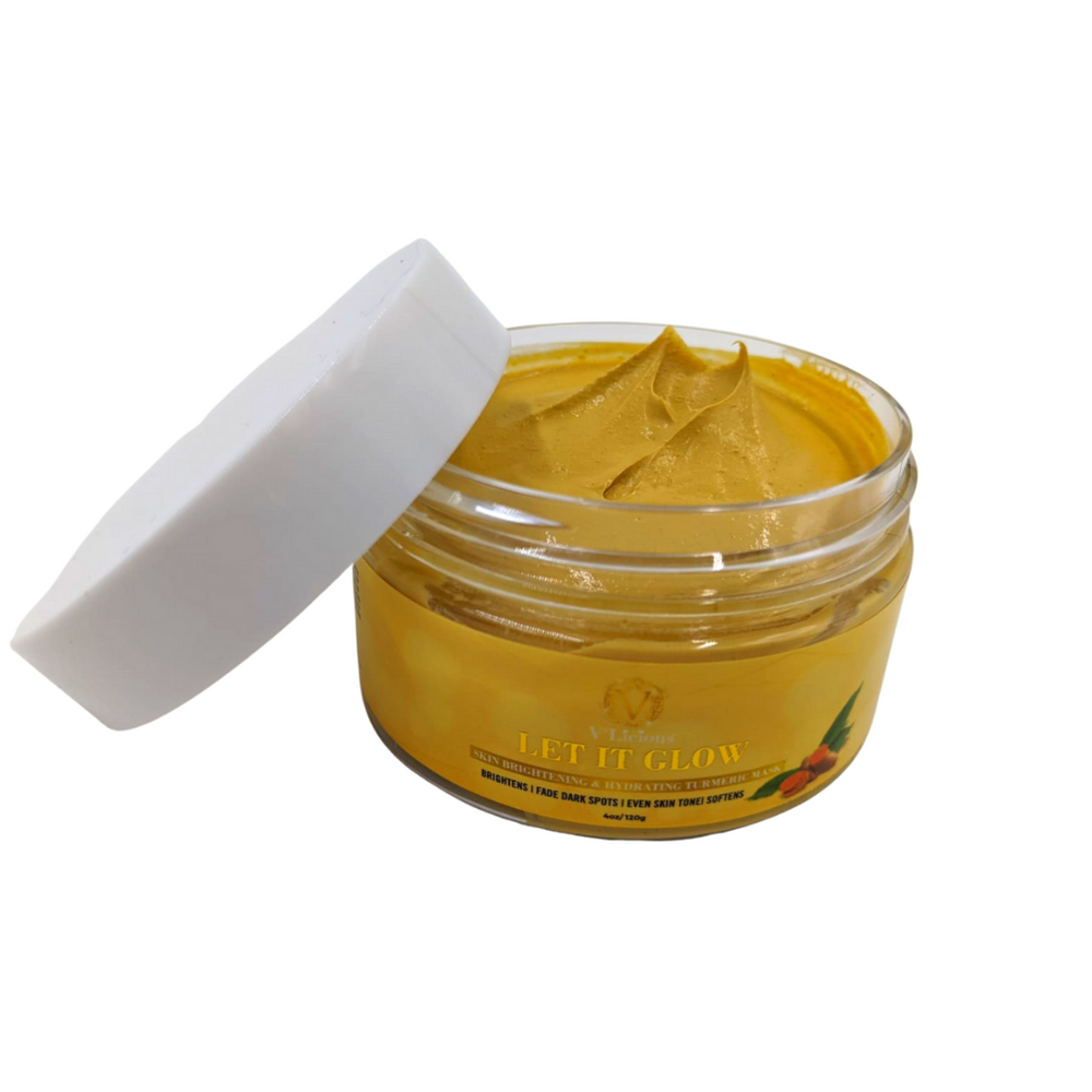 Let It Glow - Skin Brightening & Hydrating Turmeric Mask