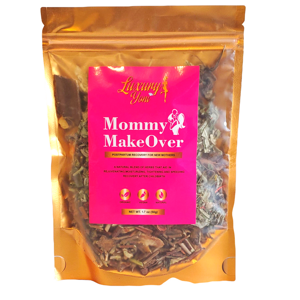 Mommy MakeOver V Steam Blend (Safe For Breastfeeding Moms) - Restores Moisture and Supports Postpartum Recovery