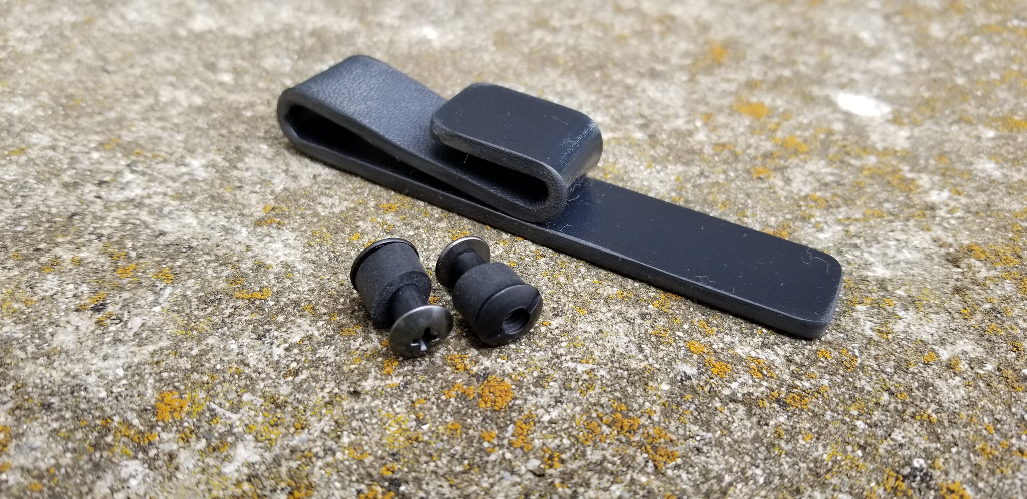 Kydex IWB J-Loop belt attachment