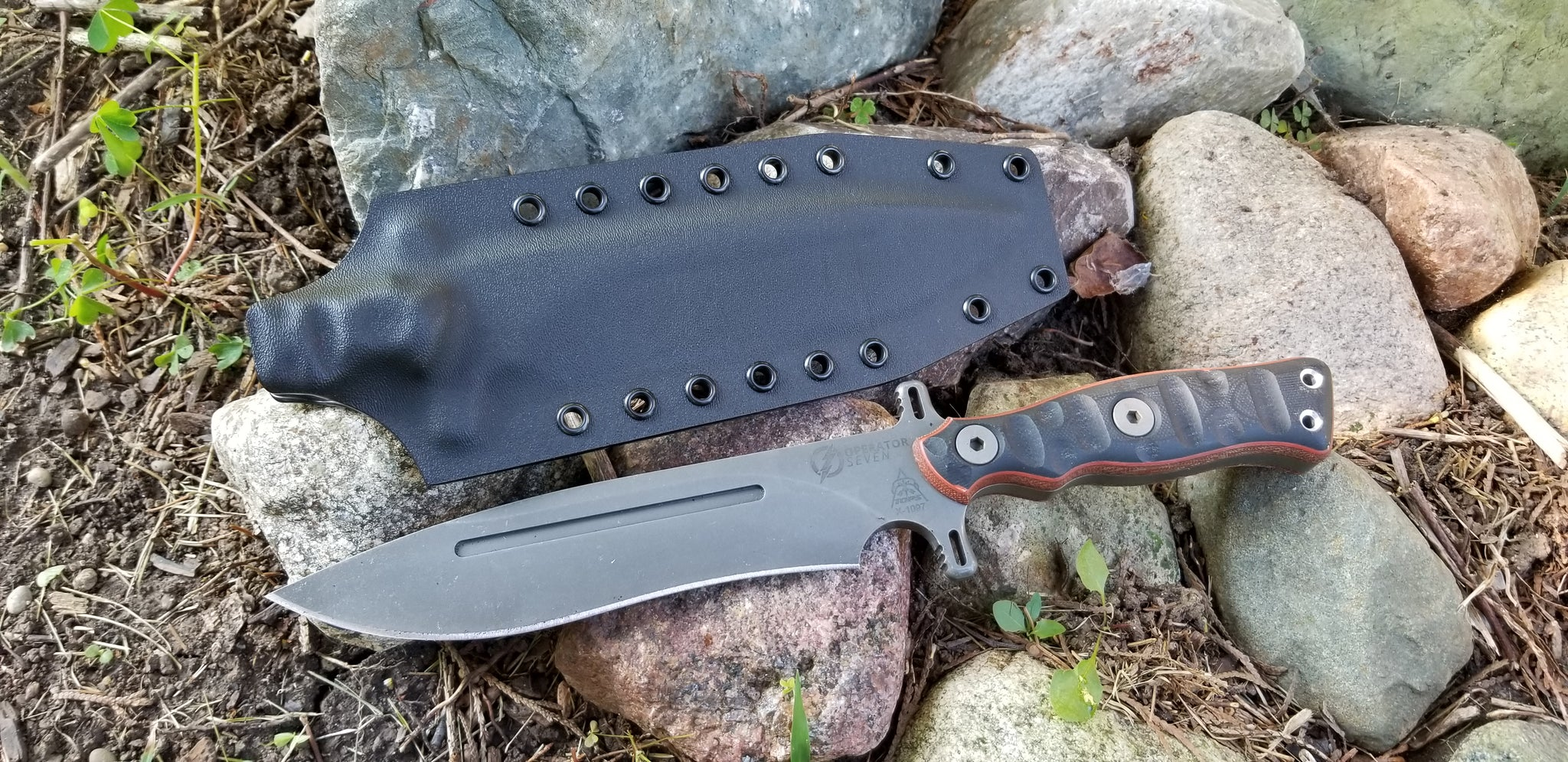 TOPS OPERATOR SEVEN custom kydex sheath