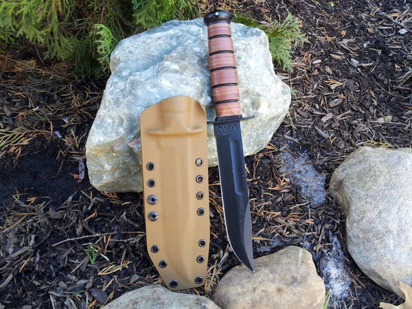 KA-BAR USMC Kydex sheath