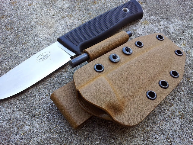 F1 Kydex Sheath pancake style with Firesteel Holder