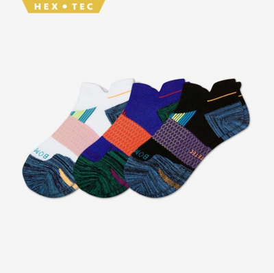 MEN'S PERFORMANCE RUNNING ANKLE SOCK 3-PACK