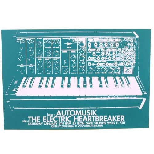 Automusik/Electric Heartbreaker at Iron Gate Poster
