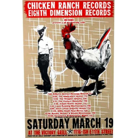 Chicken Ranch SXSW 2005 Party Poster
