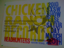 Load image into Gallery viewer, Chicken Ranch SXSW 2010 Poster
