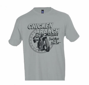 Chicken Ranch Motorcycle Demon Shirt