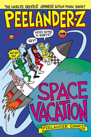 Peelander-Z Space Vacation Comic Book