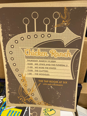 CRR SXSW 2009 Showcase Poster