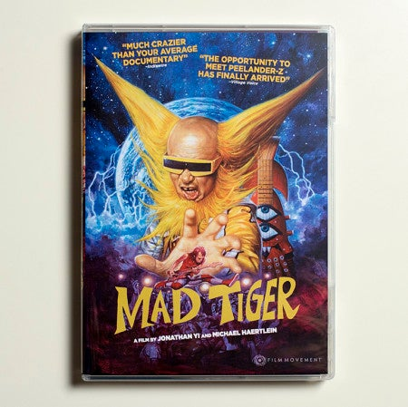 Mad Tiger: The Movie DVD