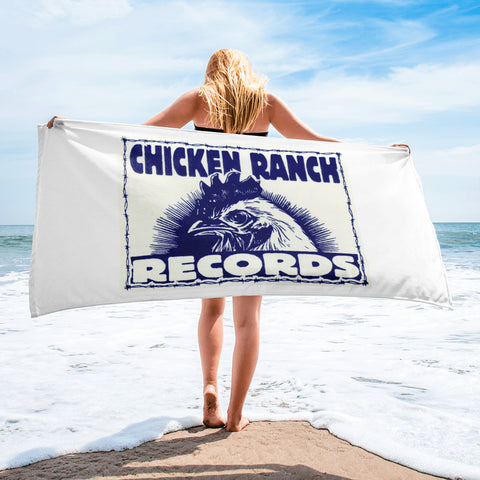 Chicken Ranch  Beach Towel