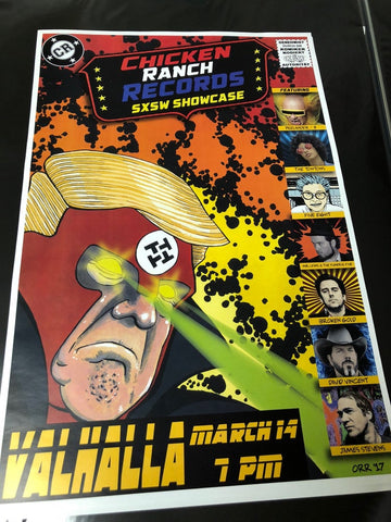 Chicken Ranch SXSW Showcase 2017 Poster