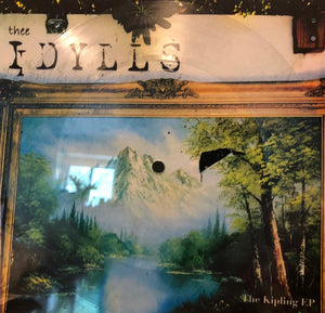 "Thee Idylls- ""The Kipling EP"" lathe 8"" picture disc"