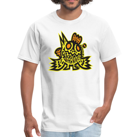 Chicken Ranch T-Shirt by Peelander Yellow - white