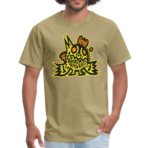 Chicken Ranch T-Shirt by Peelander Yellow - khaki