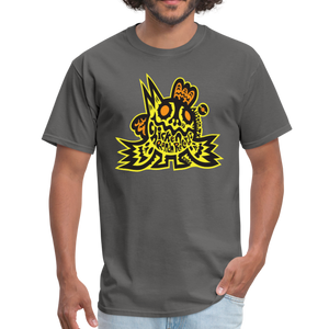 Chicken Ranch T-Shirt by Peelander Yellow - charcoal