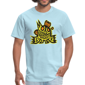 Chicken Ranch T-Shirt by Peelander Yellow - powder blue