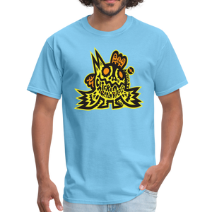 Chicken Ranch T-Shirt by Peelander Yellow - aquatic blue