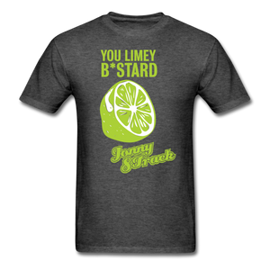"Jonny 8-Track ""Limey"" T-Shirt - heather black"