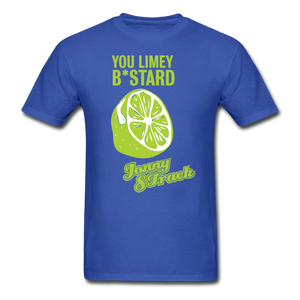 "Jonny 8-Track ""Limey"" T-Shirt - royal blue"