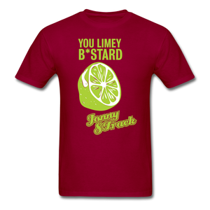 "Jonny 8-Track ""Limey"" T-Shirt - dark red"