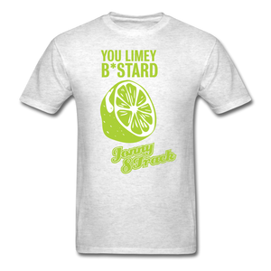 "Jonny 8-Track ""Limey"" T-Shirt - light heather gray"
