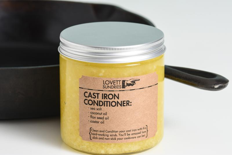 Cast Iron Conditioner