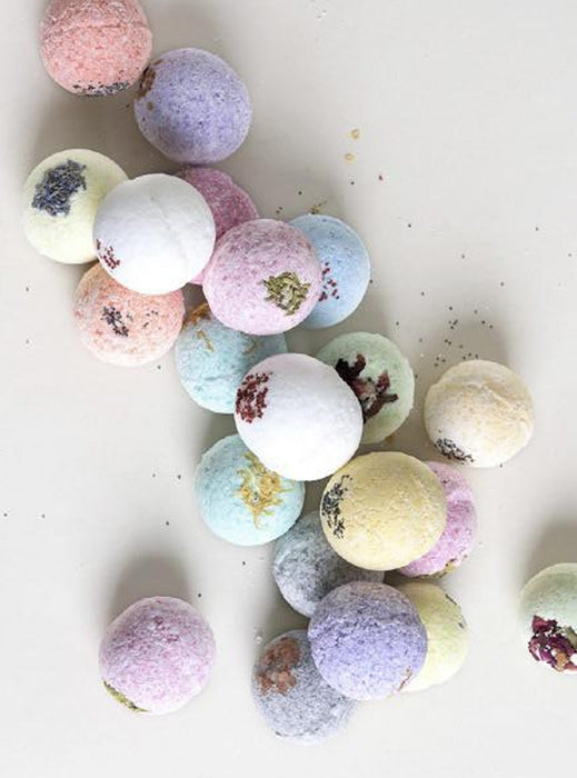 Bath Bombs - Flower Buds + Seeds