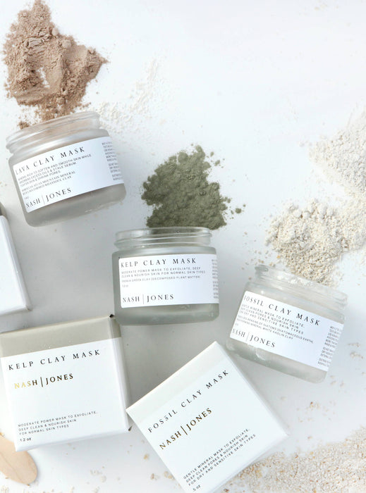 Clay Masks - Plant and Earth
