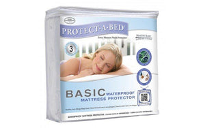BASIC SINGLE WATERPROOF MATTRESS PROTECTOR