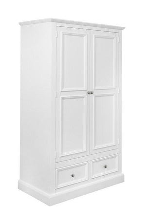 TRENT WHITE 2 DOOR WARDROBE